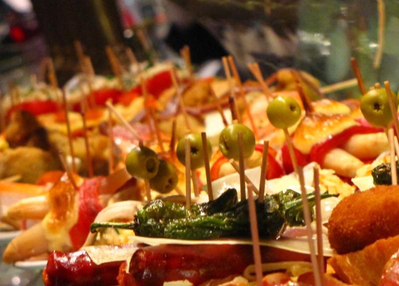 Tapas-buffet